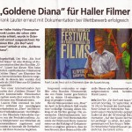 Haller Tagblatt 9. September 2015